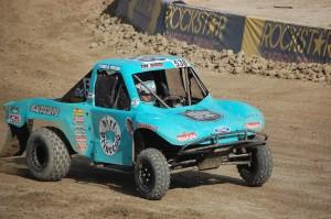 Hailie Deegan 538 Titan Electric sponsored Modified Kart winner