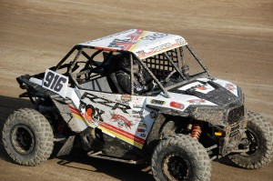 Cody Rahders 916 put in a n effort to win but hard to settle for second