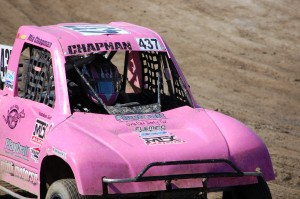 Mia Chapman 437 drove straight to the finish line for the win