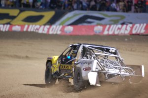 Ryan Beat shown on his way to Pro Lite Unlimited victory